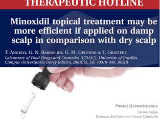 MINOXIDIL: Melhor usar com cabelos secos ou úmidos?