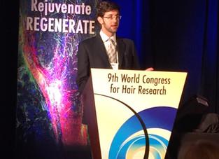 Trabalho científico brasileiro é apresentado no Congresso Mundial de Pesquisa em Doenças dos Cabelos