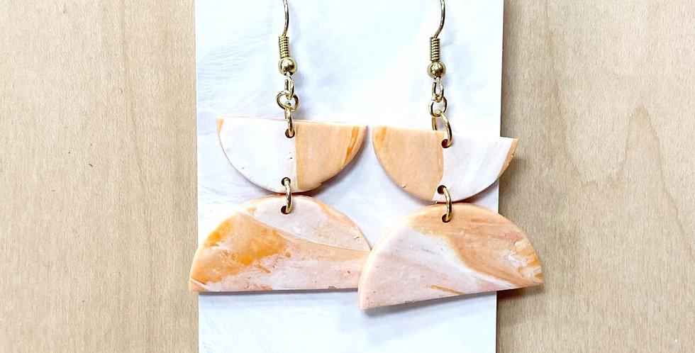 PSL Half-Sweet  | Clay Earrings