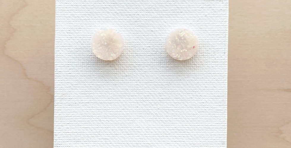 Intentional Peace | Clay Earrings