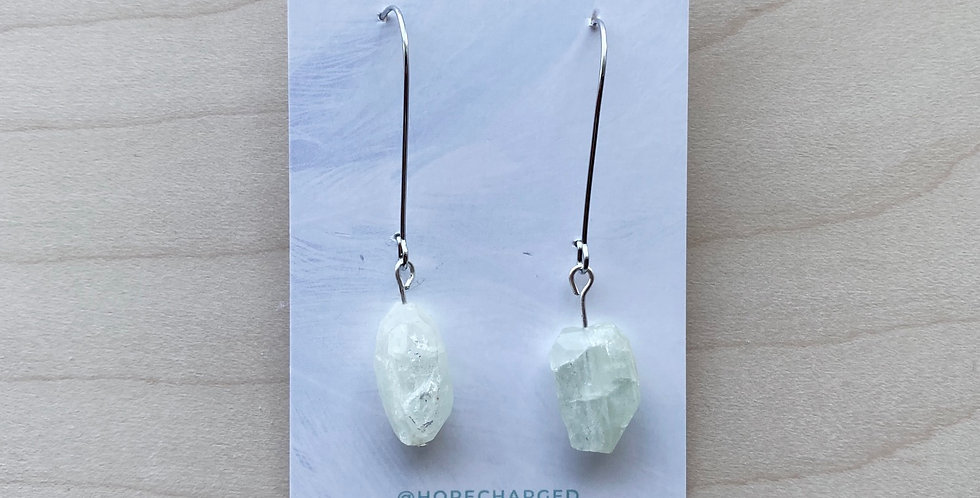 Sparkling Like Crystal | Hope Charged Earrings