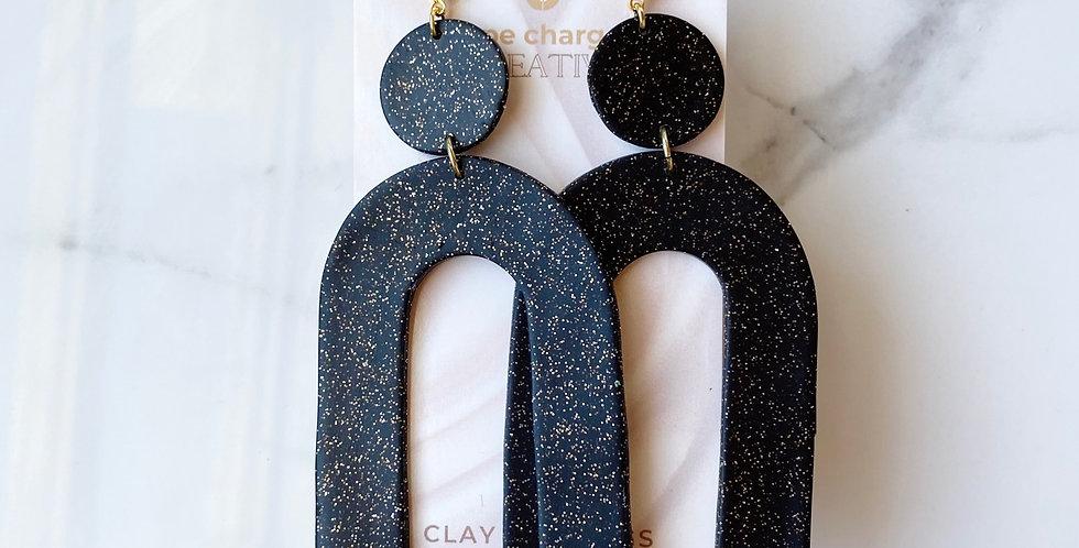 XL King's Heights in Twinkle Twinkle | Clay Earrings