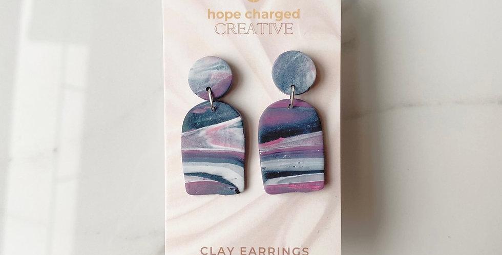 Doorway Into Space | Clay Earrings