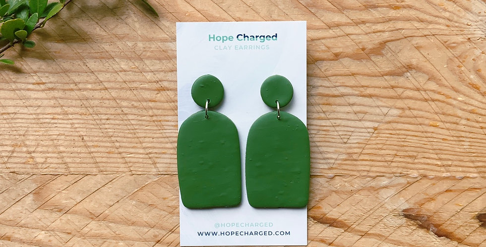 Growing Up | Arch Collection | Clay Earrings