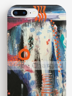 Print of Original Painting | Besign You In The Valley | iPhone 8 Phone Case