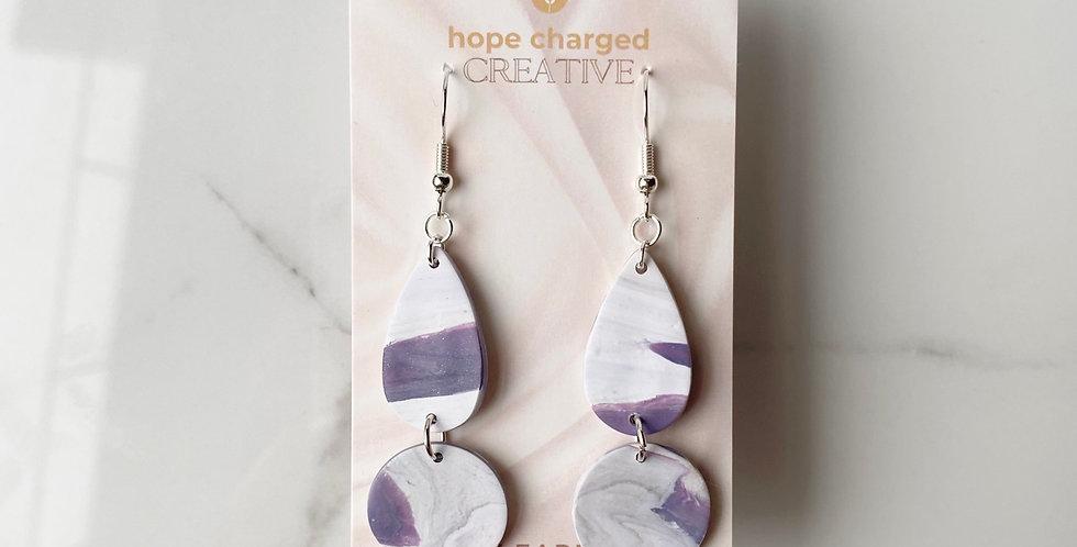 Abundant Marble | Clay Earrings