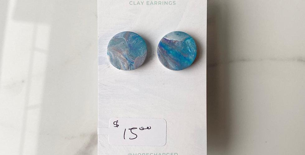 Nepal Studs | Clay Earrings