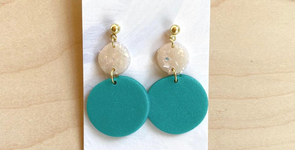 Dazzling Drops | Clay Earrings