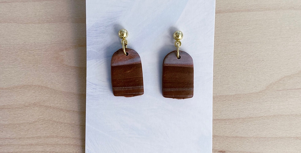 On The Earth | Clay Earrings