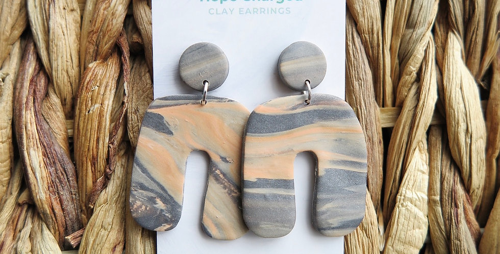 Passionately Free | Clay Earrings