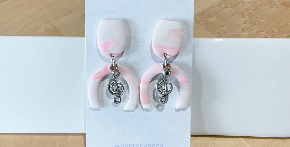 Sing for Joy | Clay Earrings