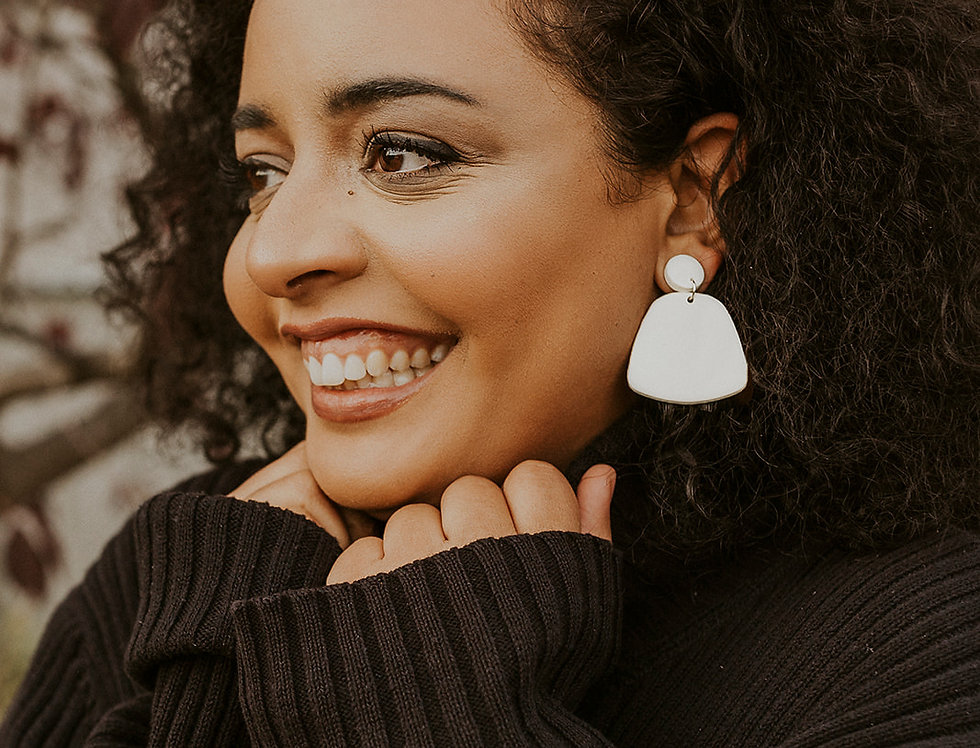Passed The Valley | Clay Earrings