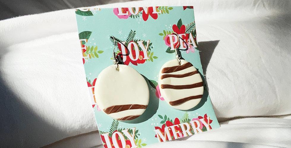 Xmas Cookies • Clay Earrings