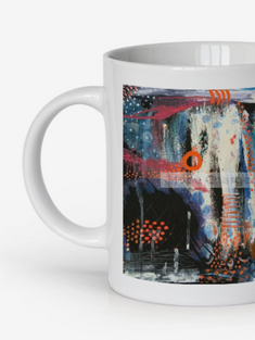 Print of Original Painting | Besign You In The Valley | Coffee Mug