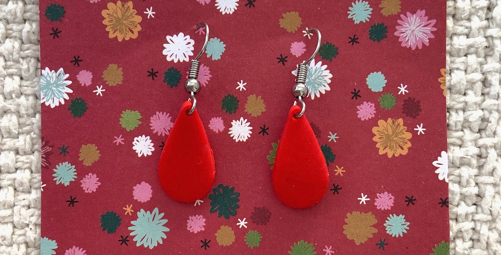 Clay Earrings • Redemption Droplets