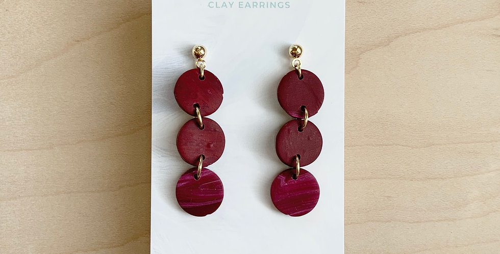 Three Sisters Royal Identity (Mini) | Clay Earrings