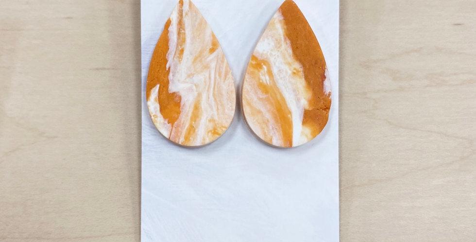 Lovely PSL Drops | Clay Earrings