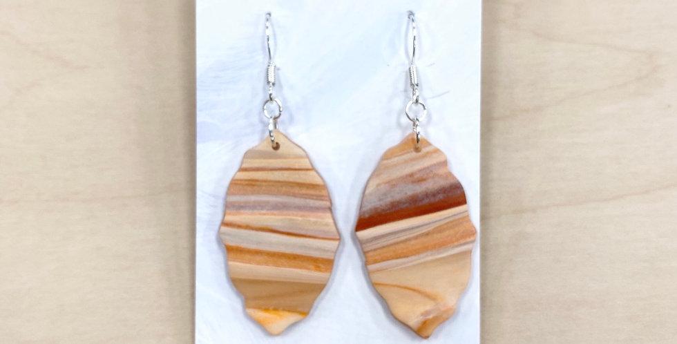 PSL Leaves | Clay Earrings