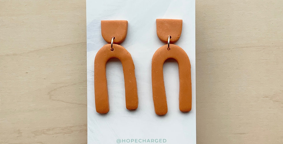 Harvest Fall Promises | Clay Earrings
