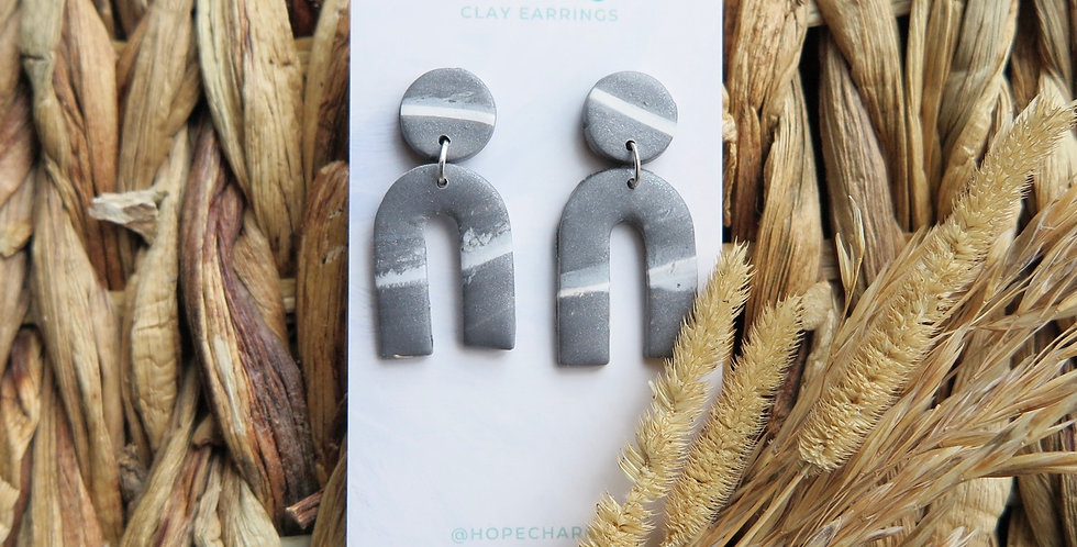 Pure Freedom | Clay Earrings