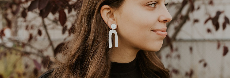 Original Pure Arch | Clay Earrings