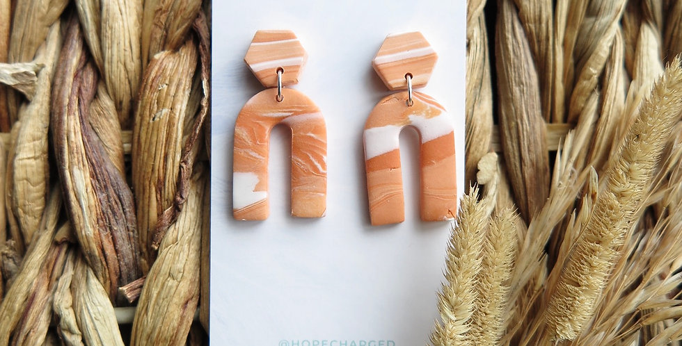 Pure Passion | Clay Earrings