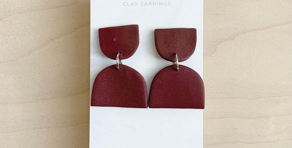 I Am Who You Say I Am | Clay Earrings
