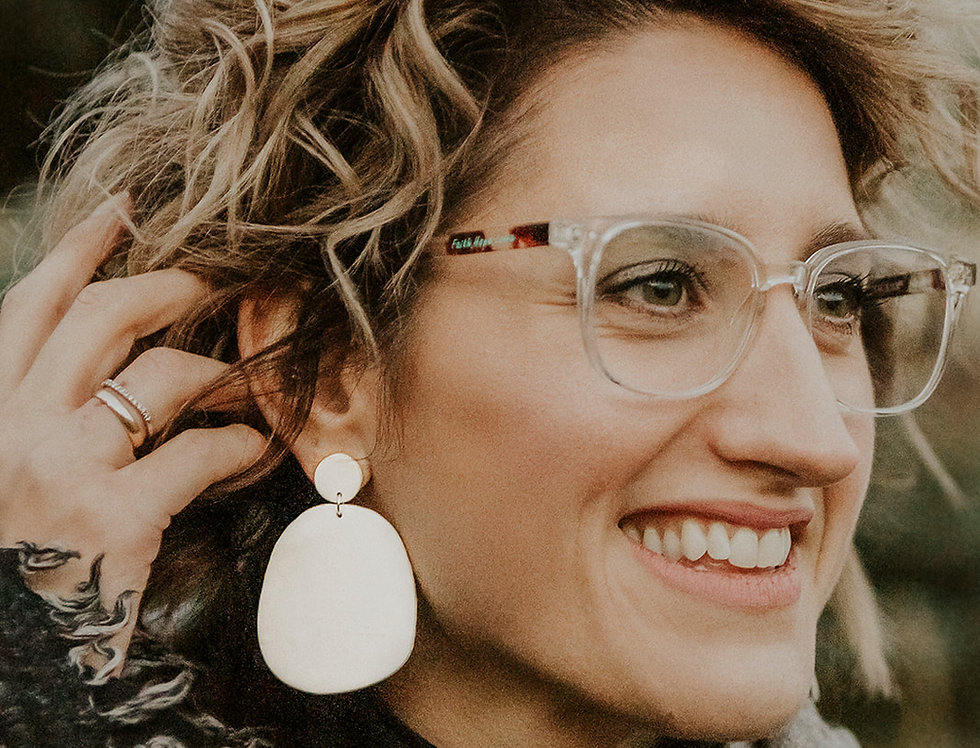 The Cornerstone | Clay Earrings