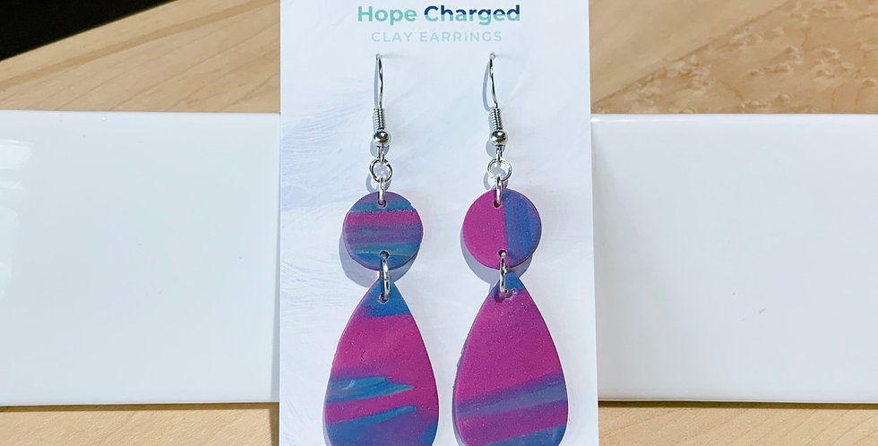 Joy At Home | Drop Style | Clay Earrings