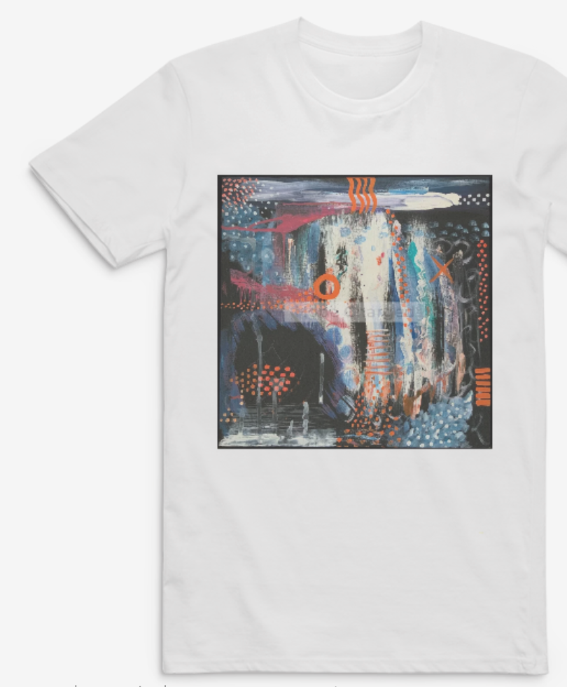 Print of Original Painting | Besign You In The Valley | Tshirt