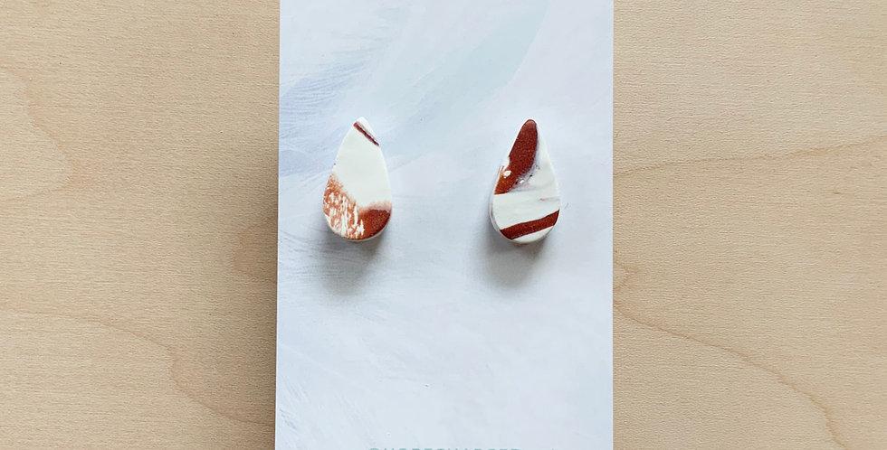 Original Marble Mini | Clay Earrings