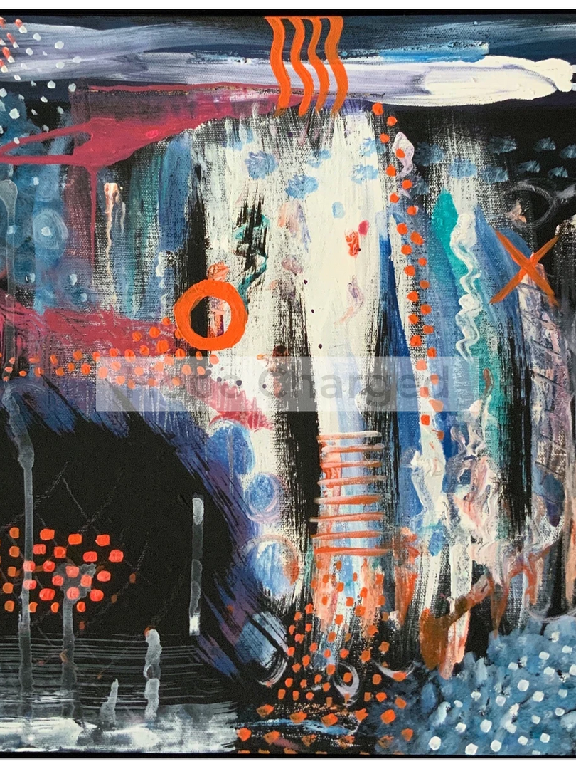 Print of Original Painting | Besign You In The Valley