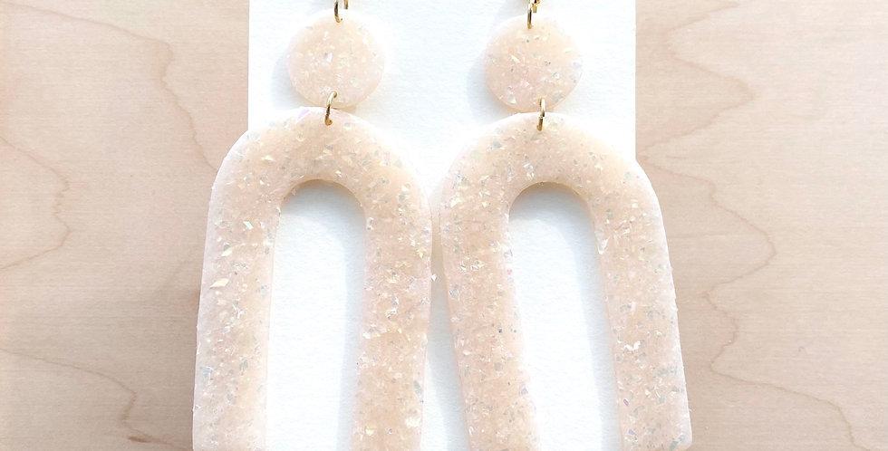 Pure Opal Beauty | Clay Earrings