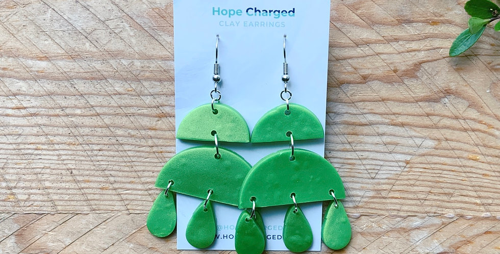 Brighten Me Up | Chandelier Collection | Clay Earrings