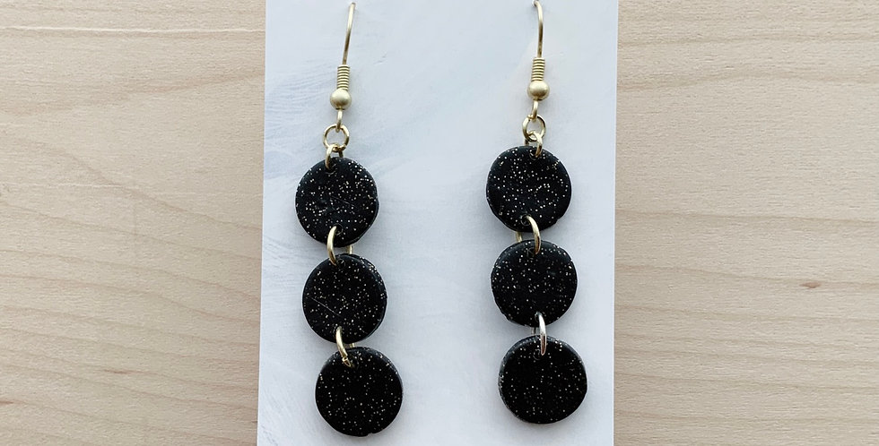 Mini Three Sisters Twinkle Twinkle | Clay Earrings