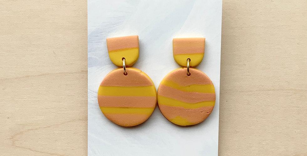 Glory Fall Marble | Clay Earrings