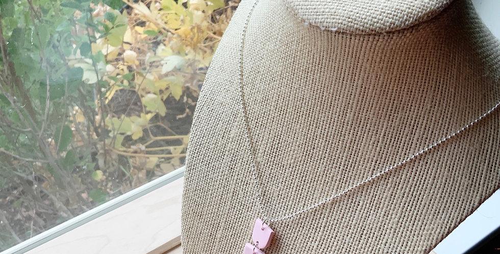 Joyful Fall   Clay Necklace