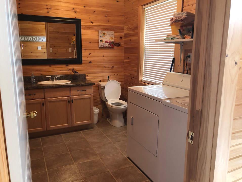 Main Floor Laundry and Washroom