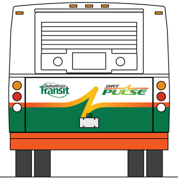 Pulse bus schematic graphics - back view