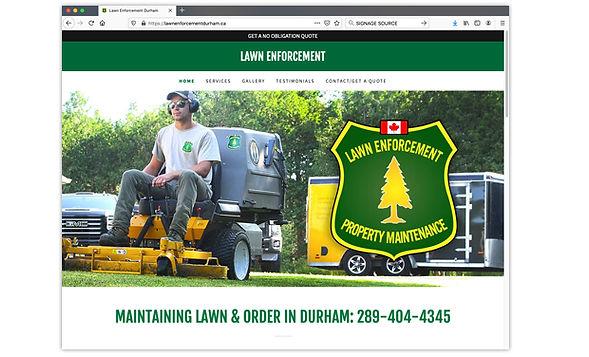 LAWN ENFORCEMENT lawnenforcementdurham.ca