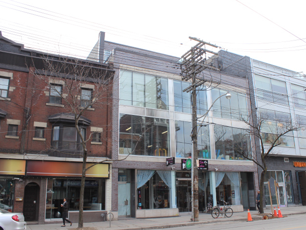 April 2014- Toronto 17,000 sf Retail