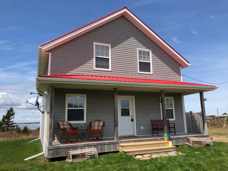 Crimson Cove Cottage Front
