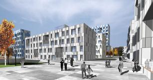 Masterplan and residential development