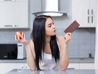 El índice glucémico y el chocolate.