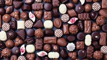 Las confecciones del chocolate