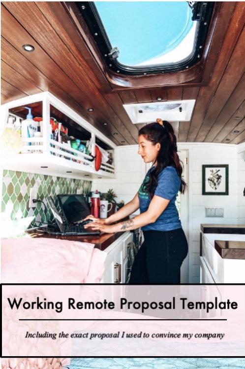 Remote Proposal Template & Private Session w/ Kristin