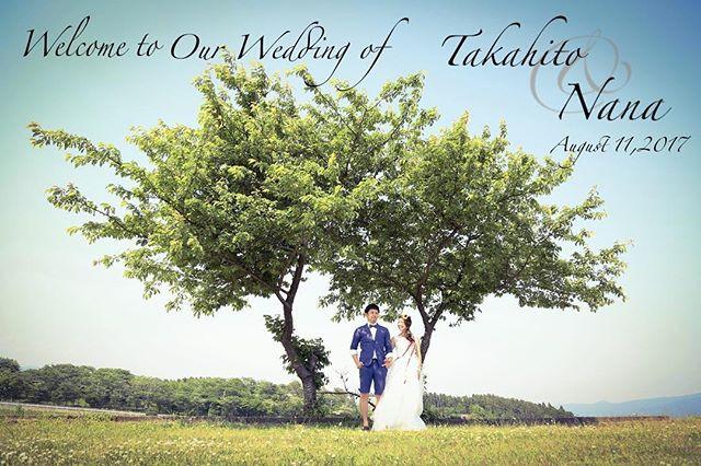 ウェディングボード作りました♡ _素敵な2人の大切なお友達をお出迎えするお手伝いが出来て私も幸せ♡ _#weddingphotographer #weddingphotography #weddingphoto #weddingdress #wedding #love #love