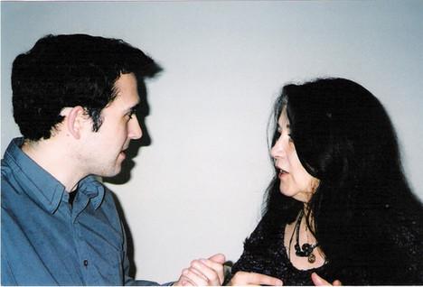 With Martha Argerich