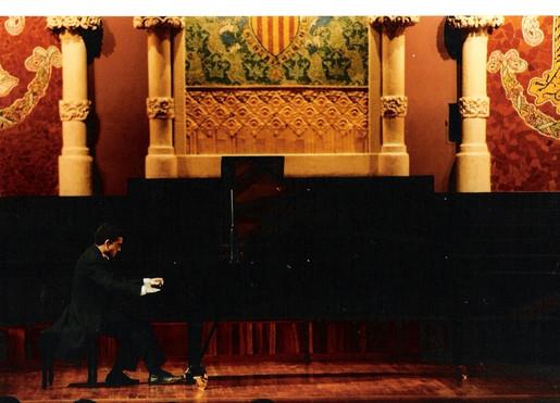 At the Palau de la Música Catalana