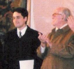 With Xavier Montsalvatge